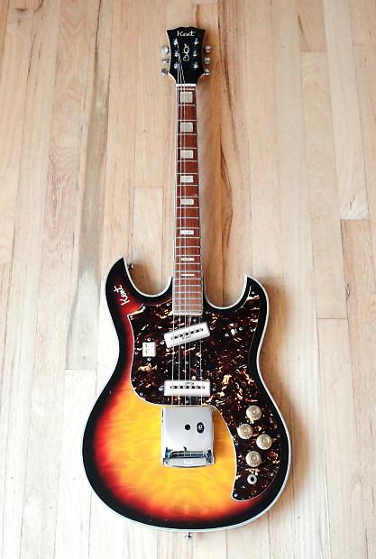 1960s kent model 740 vintage electric guitar japan kawai reverb. Black Bedroom Furniture Sets. Home Design Ideas