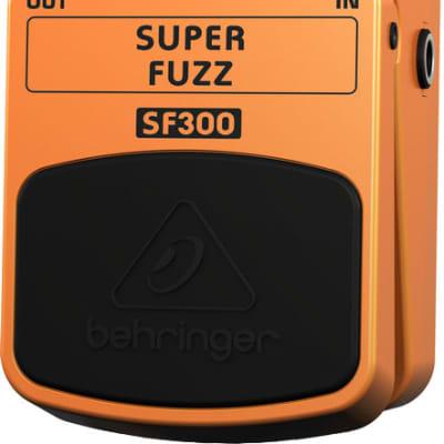 Behringer SF300 Super Fuzz Pedal for sale