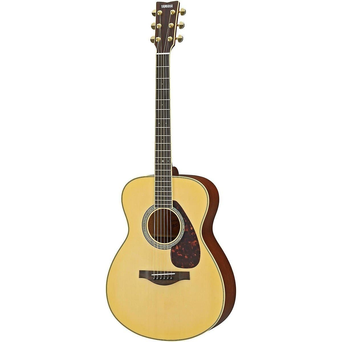 Yamaha ls6m l series folk symphony acoustic electric for Where are yamaha guitars made