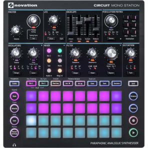 NOVATION CIRCUIT MONO STATION Synth analogico parafonico