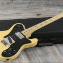 RARE & Vintage! 1977 Fender Telecaster Custom Blonde + OHSC (3609)