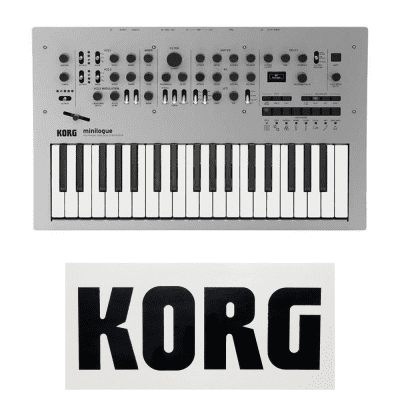 Korg Minilogue - Analog, Four Voice, Programmable Polyphonic Synth [Three Wave Music]