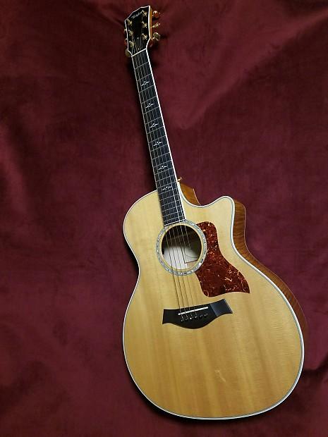 2002 taylor 614 ce acoustic guitar natural reverb. Black Bedroom Furniture Sets. Home Design Ideas