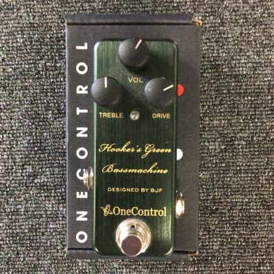 Used One Control Hookers Green Bassmachine for sale