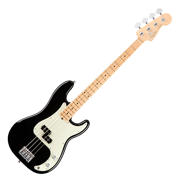 fender american professional p bass 2017 black strait music reverb. Black Bedroom Furniture Sets. Home Design Ideas