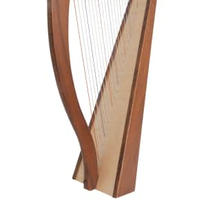 Roosebeck HTHA5 22-String Heather harp with 5-Panel Back