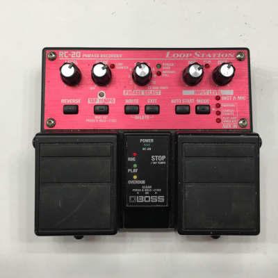 Boss RC-20 Loop Station Looper Sampler Phrase Recorder Guitar Effect Pedal + PSU