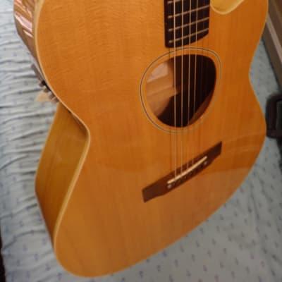 Kramer Ferrington JS-2 Jumbo Acoustic / Elec *rare*  w/  Pro-Tek Hard Case 1990-91 natural blonde for sale