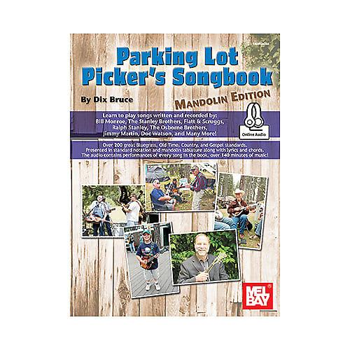Parking Lot Picker's Songbook - Mandolin (Book + Online Audio)