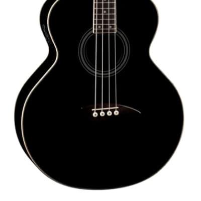 Dean EAB Acoustic-Electric Bass Black