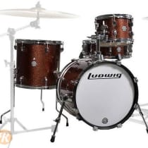 Ludwig Questlove Breakbeats Kit 16/10/13/14 2010s Red Sparkle image