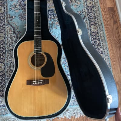 Cortley W-15S 1970s Natural Acoustic Made in Japan Solid Top Rare for sale