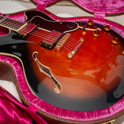 Epiphone 50th Anniversary John Lee Hooker Limited Edition Sheraton #18 of 50 1998 Tobacco Sunburst for sale