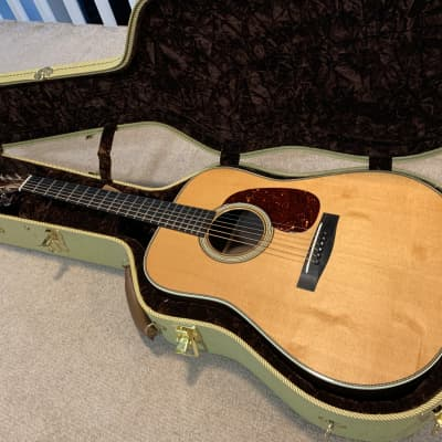 Huss and Dalton TD-R Custom Thermocured Bearclaw Sitka / East Indian Rosewood Mint Condition 2018 Natural