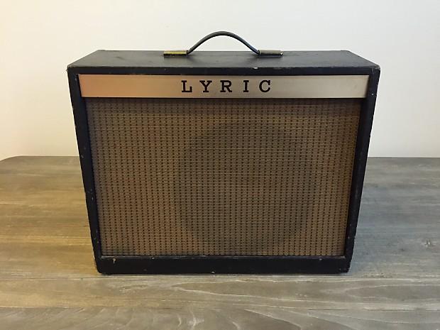 Magnatone Tonemaster 214 Guitar Amplifier Lyric Custom 330 Reverb