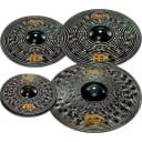"Meinl Classics Custom Dark Pack Cymbals w/ FREE 18"" Crash Cymbal & Demo Video - CCD141620"