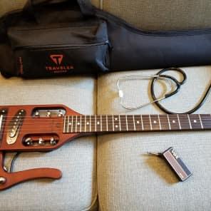 Traveler PRO-BRN Pro-Series Acoustic/Electric Travel Guitar Antique Brown