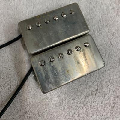 RS Guitarworks / Lindy Fralin P.A.F. 8.4K / 7.7K Aged Nickel humbucker pickup set for sale