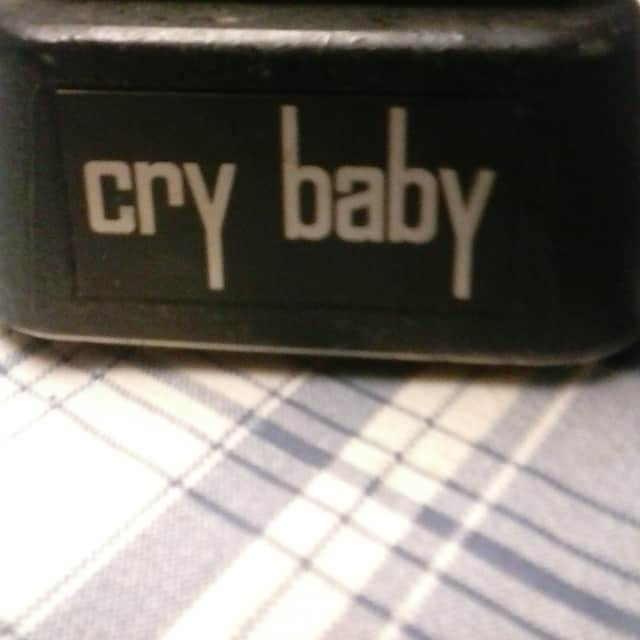 Thomas Organ Cry Baby cleaned with new pot 1974 Black on Black image