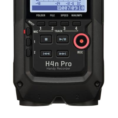 Zoom H4n PRO All Black Handy Digital Multitrack Recorder