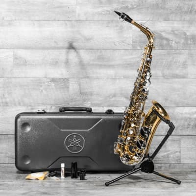 YAS-200ADII Student Alto Sax Outfit - USED