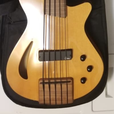 Veillette Paris Semi-Hollow Fretless 5 String for sale