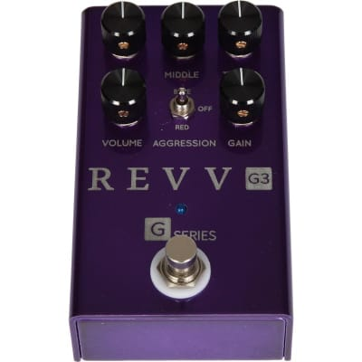 Revv G3 Purple Channel Distortion Pedal for sale