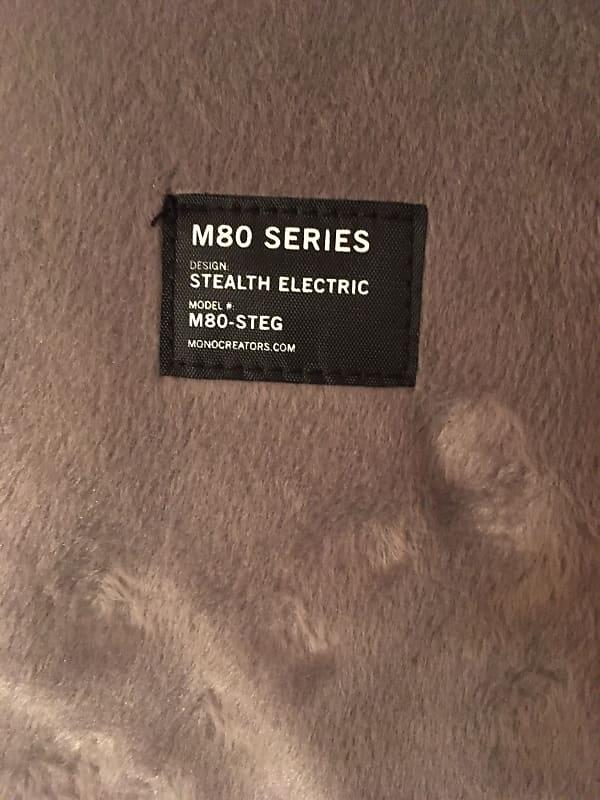 mono m80 stealth electric 2019 black nate 39 s guitar gear reverb. Black Bedroom Furniture Sets. Home Design Ideas