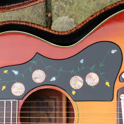 ★☆ Players Ibanez 698 (Gibson J200 Replica) MIJ c.1972 + Pro Setup +  Electro +H/Case ☆★