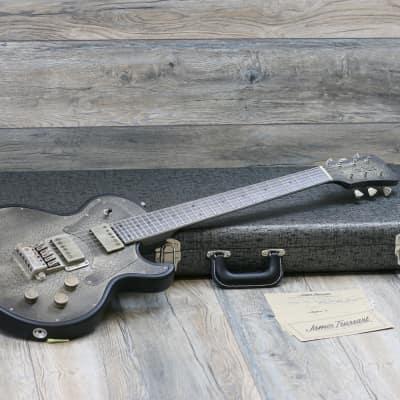 NEW! James Trussart Steeltop Custom 2019 Antique Silver Gator + OHSC and COA