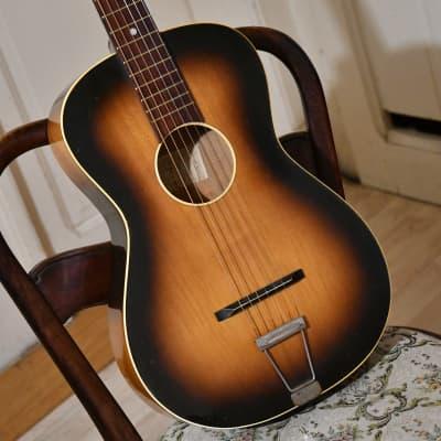 Vintage Cremona 525 – parlor / travel guitar, Czechoslovakia, 1969 for sale
