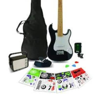 Rockwood Junior Instruments RWEB Black Junior Electric Guitar Pack for sale