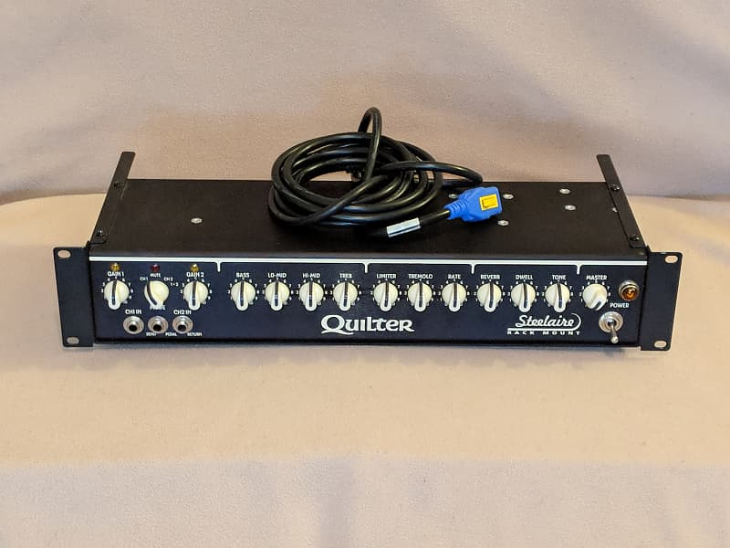 quilter labs steelaire sa200 rackmount 200w guitar amp head reverb. Black Bedroom Furniture Sets. Home Design Ideas