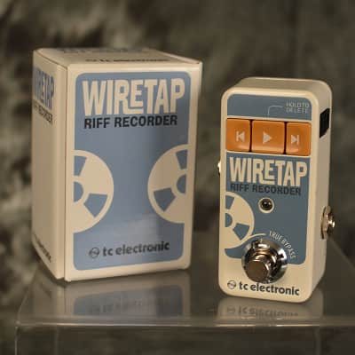 TC Electronic Wiretap Riff Recorder NEW w FREE Same Day Shipping & 2 Patch Cables included