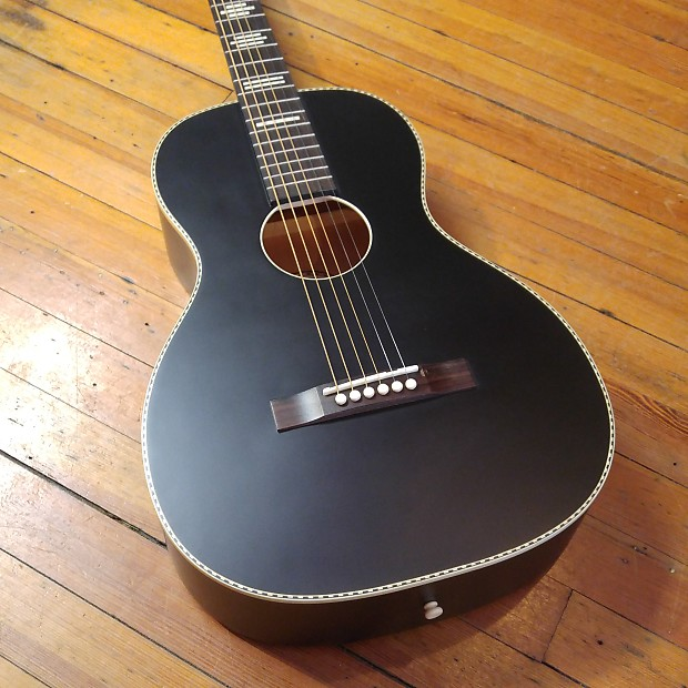 Recording King Dirty 37 RPS 7 Acoustic Matte Black W Free Shipping