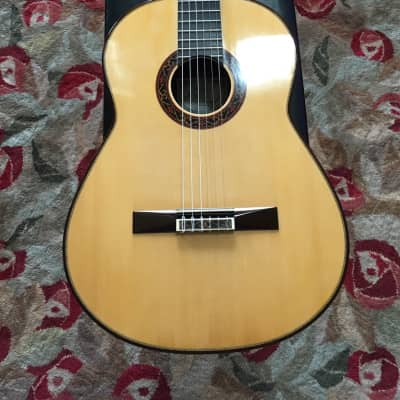 2007 Paul Fischer Spruce/Brazilian Concert Guitar for sale
