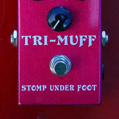 Stomp Under Foot Tri-Muff 71 Tri-Muff V1 2014 Red Sparkle