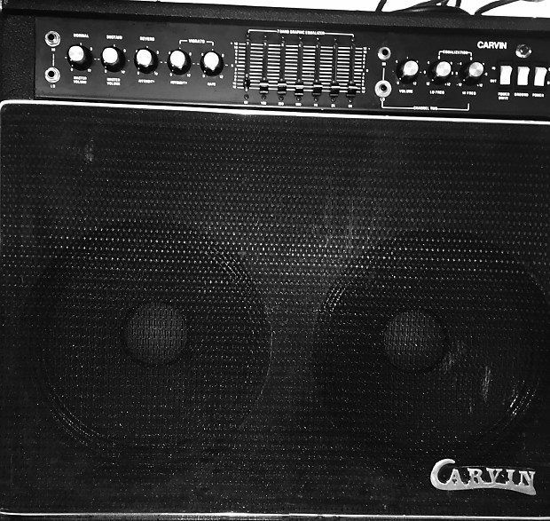 1976 CARVIN ST2500 combo 2x12 Combo Guitar Amplifier ST2500 | Reverb
