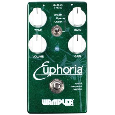 New Wampler Euphoria V2 Overdrive Guitar Effects Pedal!