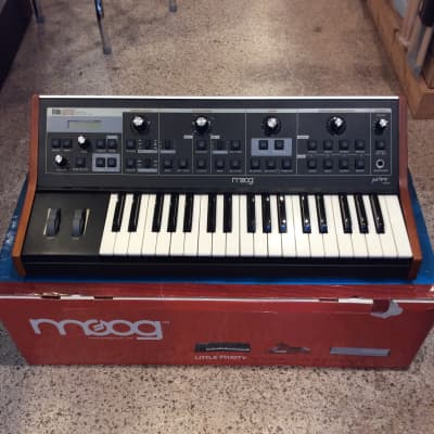 Moog Little Phatty Tribute Edition with original Box and goodies