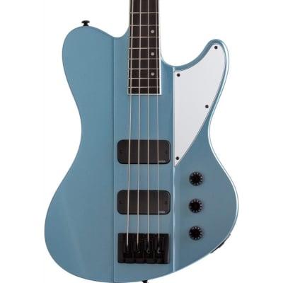 Schecter Ultra Electric Bass, Satin Pelham Blue