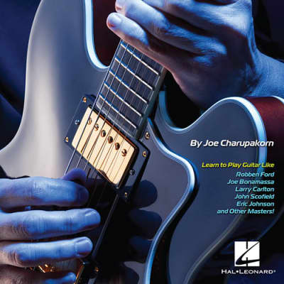 Hal Leonard How To Play Blues Fusion Guitar Book