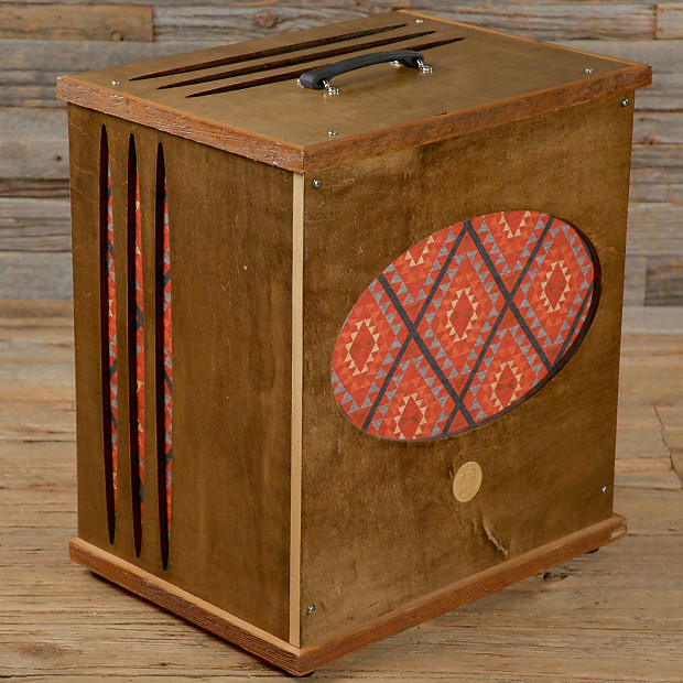 recycled pedalboards rotary speaker 1x10 cabinet used reverb. Black Bedroom Furniture Sets. Home Design Ideas