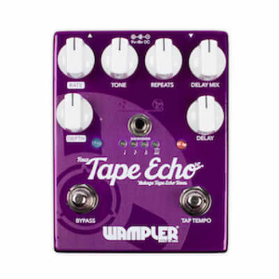 Wampler Faux Tape Echo/Delay with Tap Tempo
