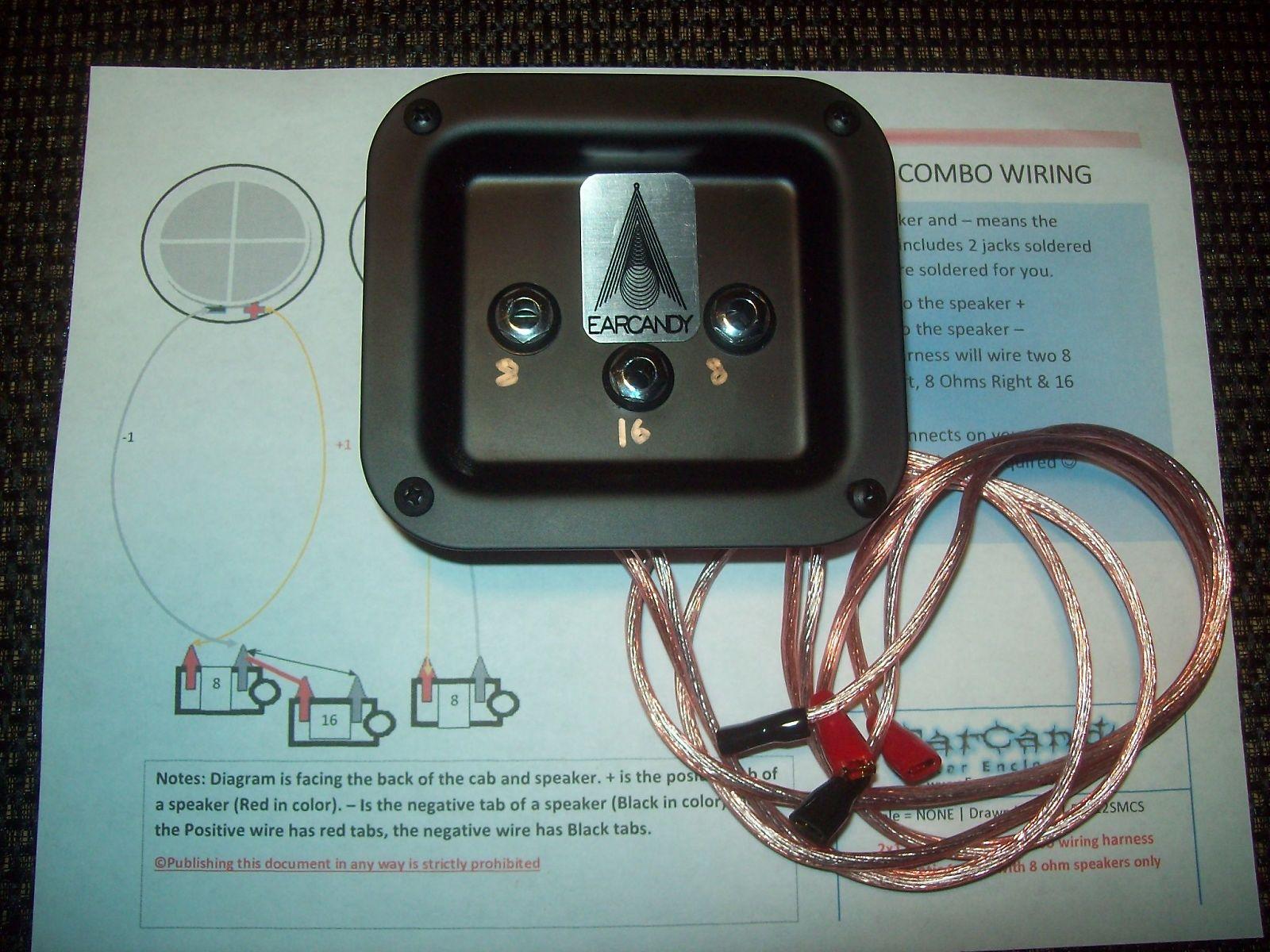 EarCandy 2x12 2x10 guitar amp speaker cab series stereo mono combo 8 ...