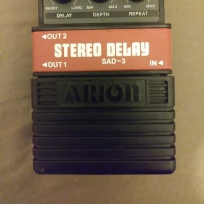 Arion SAD-3 Stereo Delay 2000's Black/grey for sale