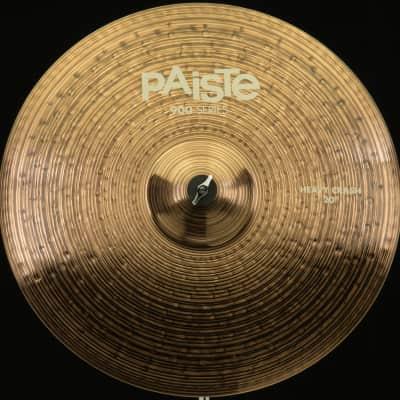 "Paiste 20"" 900 Series Heavy Crash Cymbal"