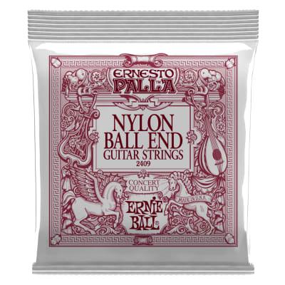 Ernie Ball Ernesto Palla Nylon Classical Black and Gold Ball End