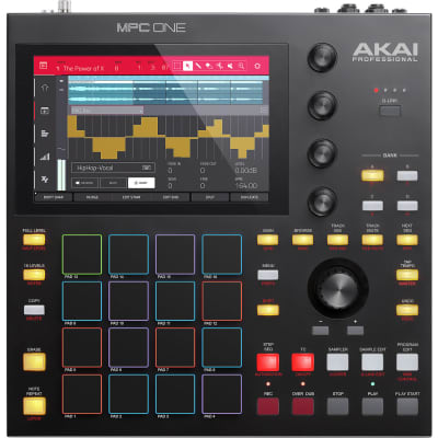 Akai Professional MPC One Standalone Music Production Center with Sampler and Sequencer for sale