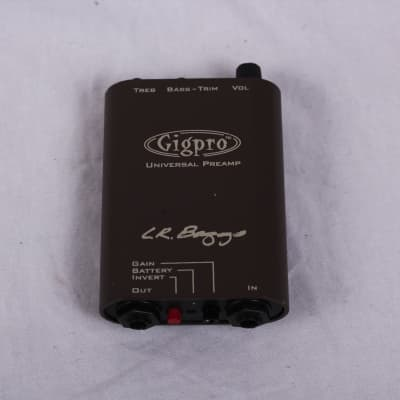 LR Baggs GIGPRO ACOUSTIC PREAMP